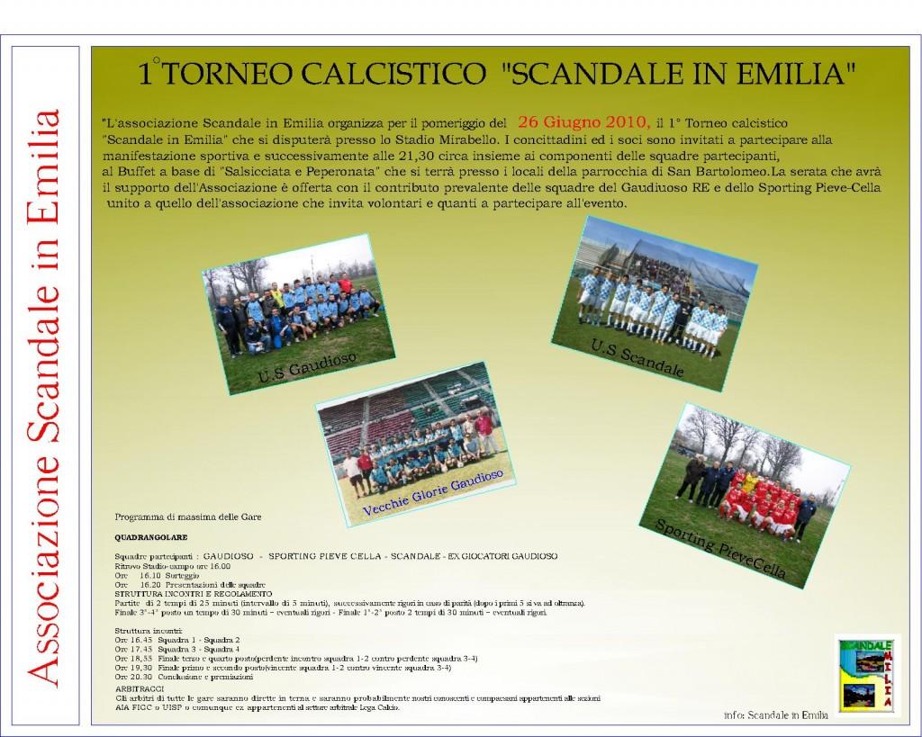 Il manifesto del torneo. Foto: http://scandaleinemilia.myblog.it/